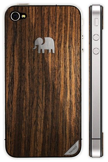 wood grain iphone 4 case