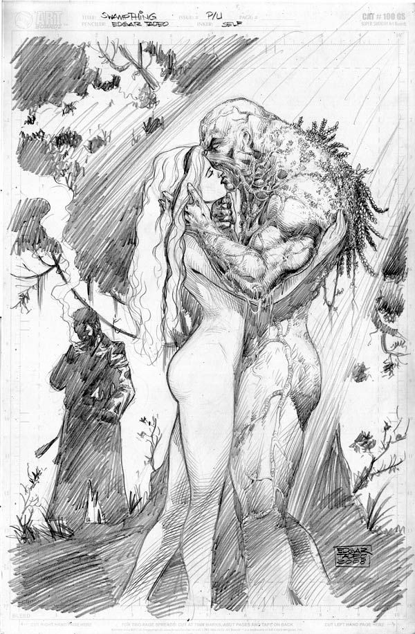 Learn To Draw Comics #swampthing
