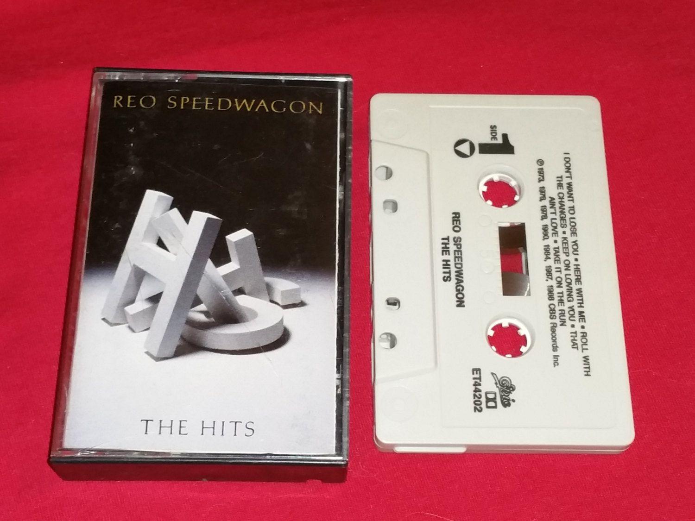 VINTAGE Reo Speedwagon THE HITS Classic Rock Audio