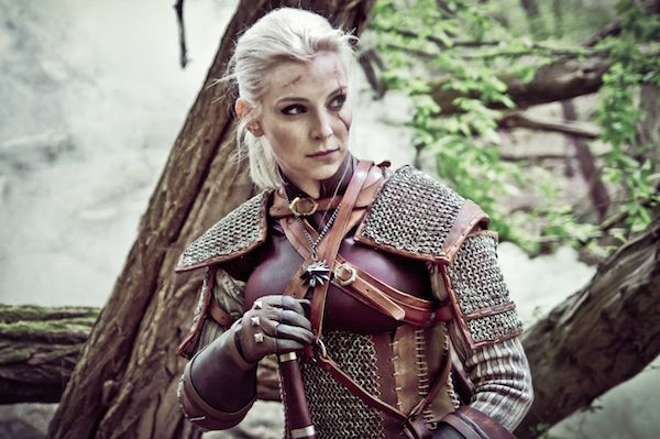 Wicked Gender Bending Geralt Cosplay From The Witcher