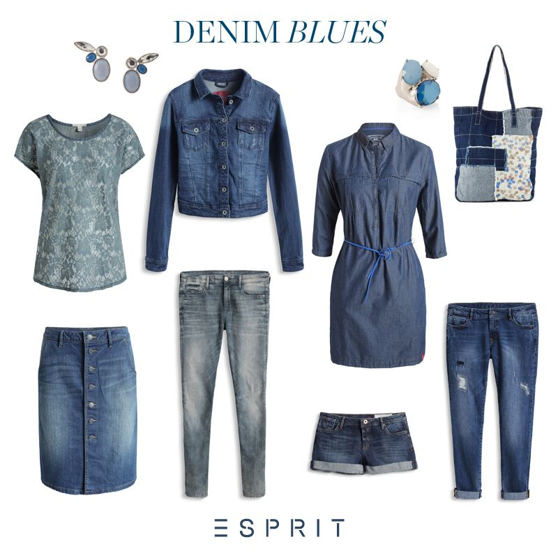 We simply can't live without #denim! Take a look at our #favourite #jeans and this #season's must have piece, the denim #skirt.