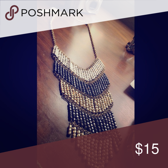 Black & Gold statement necklace Black & Gold statement necklace Robert Rose Jewelry Necklaces