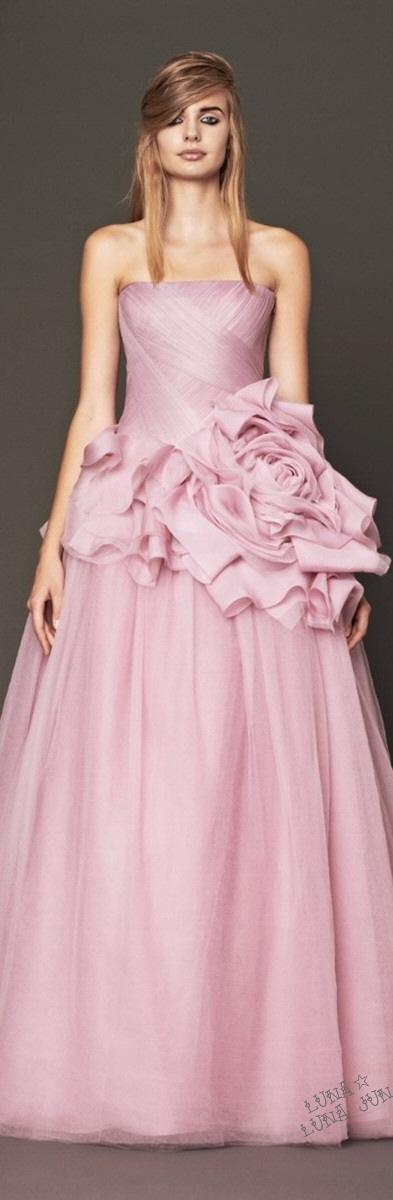 Famoso Vestidos De Fiesta Vera Wang Regalo - Colección del Vestido ...