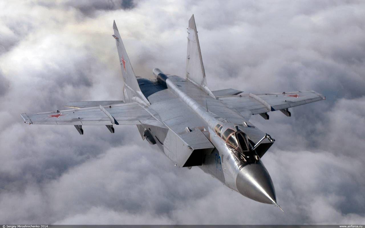 Обои миг-31, ввс, Микоян и гуревич, перехватчик, истребитель. Авиация foto 16