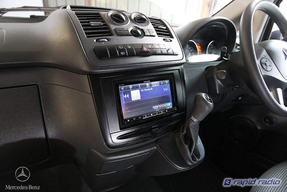 Mercedes Vito Van Audio Upgrade At Rapid Radio With Reverse