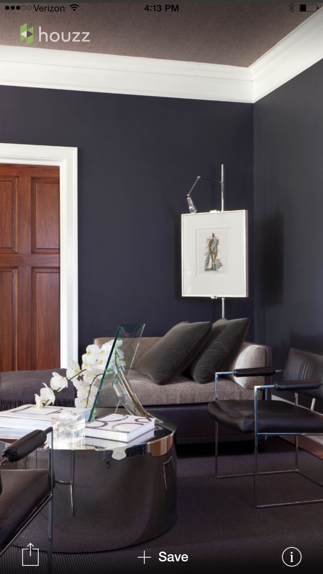 Benjamin Moore Black Horizon Paint