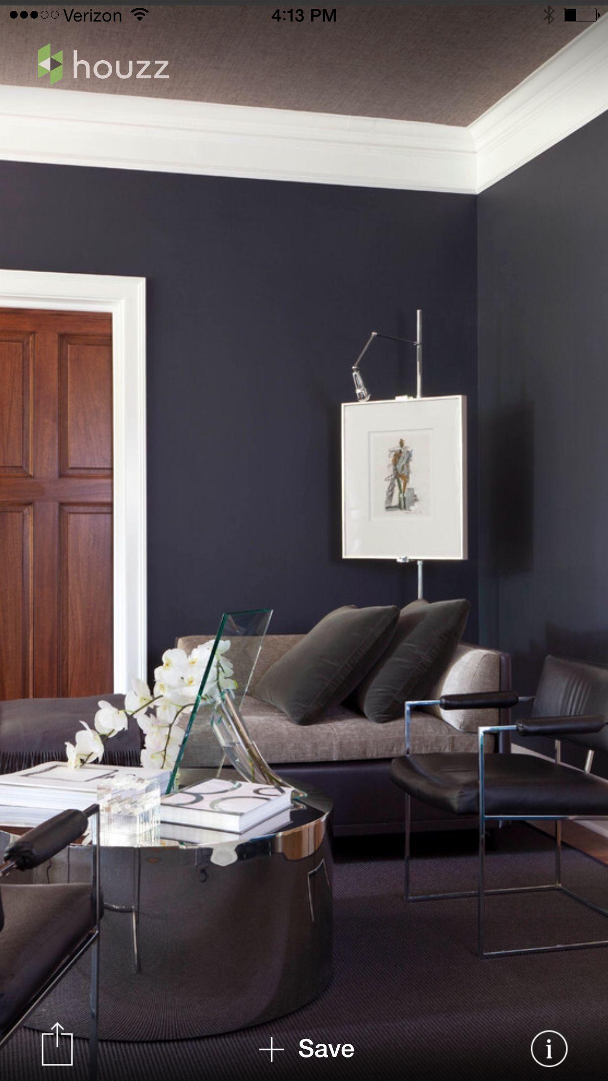 benjamin moore black horizon paint carefree house bath. Black Bedroom Furniture Sets. Home Design Ideas