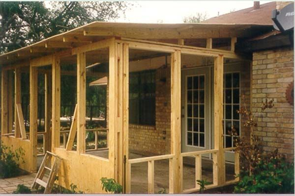 Spacious Screened Porch Plans Screened In Porch Plans