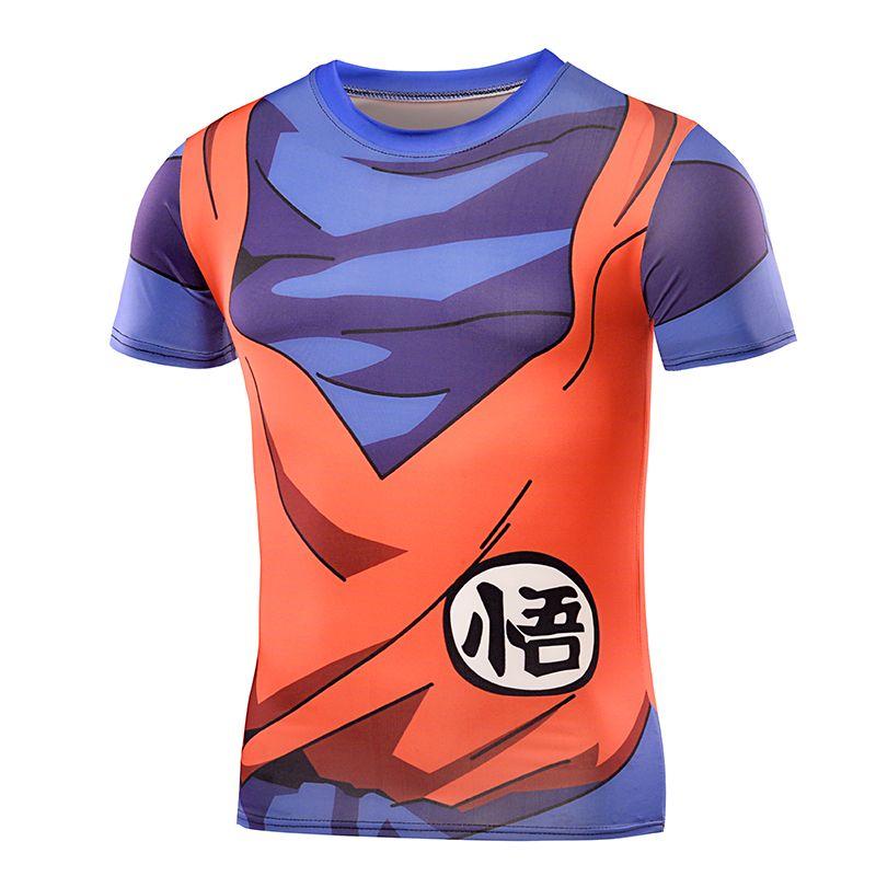 Newest Cute Kid Goku 3D t shirt t shirts Women Men Casual tees Anime Dragon Ball Z Super Saiyan t shirts Harajuku tee shirts