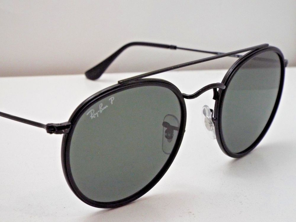 fb5a80260 Authentic Ray-Ban RB 3647N 002/58 Black Green Classic G-15 Polar Sunglasses  $273 #fashion #clothing #shoes #accessories #unisexclothingshoesaccs ...