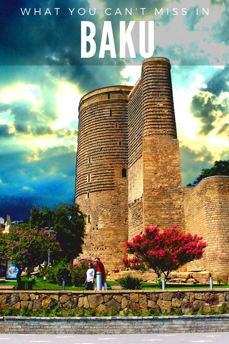 What You Can't Miss In: BAKU | #Baku is an amazing city with many wonderful pearls hidden from tourists. If you would like to discover them, click through to get to know What You Can't Miss In: BAKU | #Azerbaijan #MaidenTower #FlameTowers #BucketList #MustSee