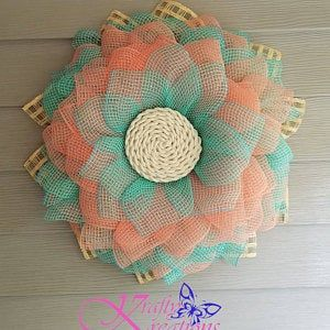 Photo of Marigold Wreath Tutorial, Marigold Wreath Video Tutorial, DIY Tutorial, Video Tutorial, Julies Wreath Boutique Tutorial, Wreath Tutorial