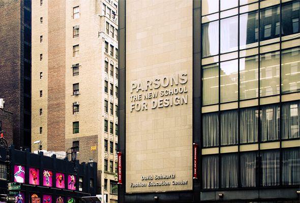 Parsons The New School For Design School Of Fashion Interior Design School Parsons School Of Design Design