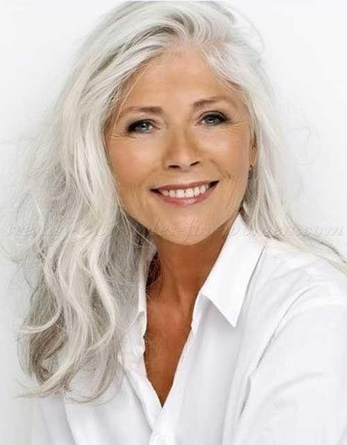 Bob Long Short Pixie Hair Styles For Grey Hair For Older Women Grey Senior Women Over 50s Hair Styles By Long Hair Styles Hair Styles Long Hair Older Women