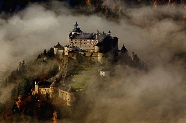 Hohenwerfen Where Schloss Dare Eagles Castle