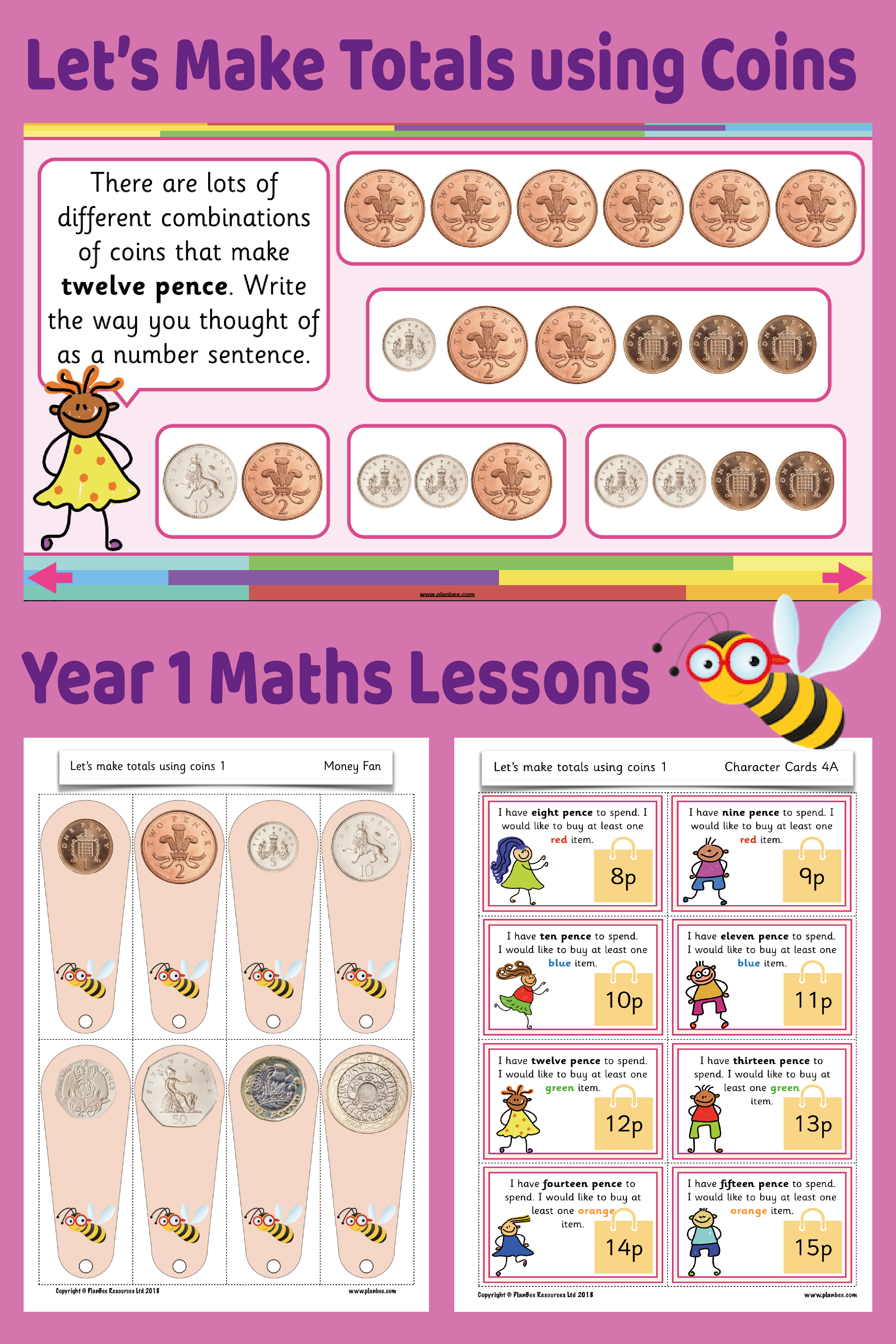 Let S Make Totals Using Coins 1