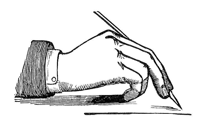 Antique Images Victorian Writing Clip Art Vintage Image Of Hand Holding Pen Clip Art Clip Art Vintage Vintage Pens