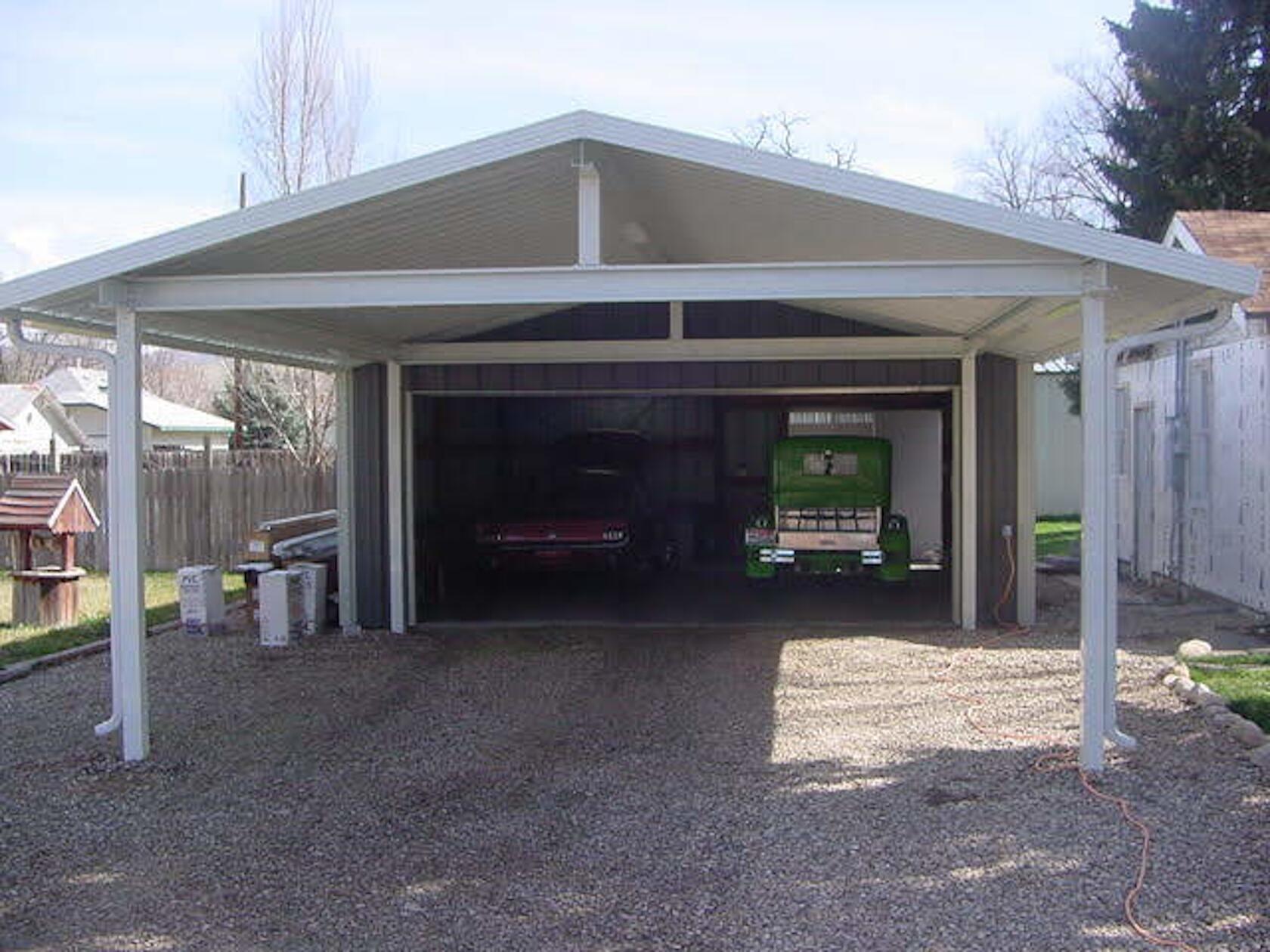 Pin by Gretchen Duggan on Garage in 2020 Carport designs