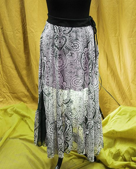 Not your usual maxi skirt! by TreesClothing on Etsy