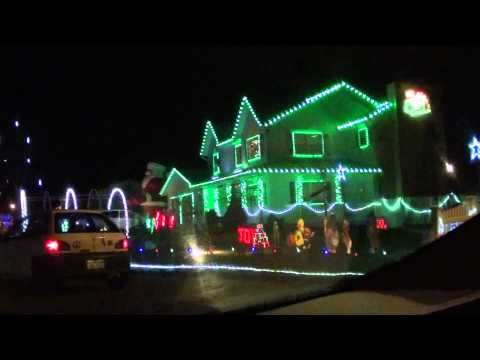The Best Dancing Christmas Lights Ever Christmas House Lights Decorating With Christmas Lights Hanging Christmas Lights