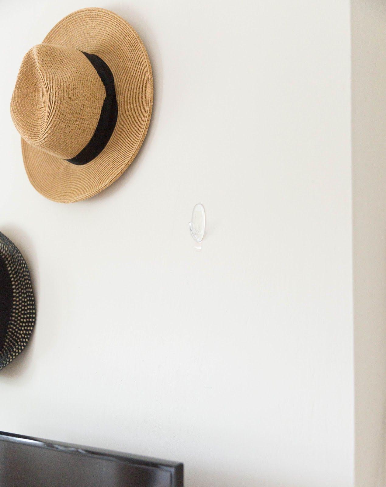 Bedroom Hat Wall Finnterior Designer Hanging Hats Command Hooks Hats