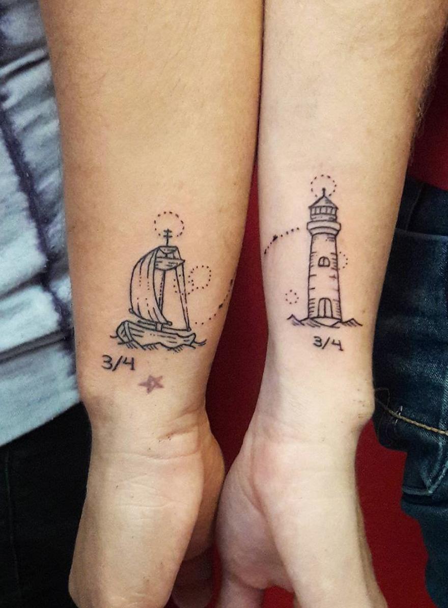 Couple Tattoos Designs Ideas Best Couple Tattoos Couples Tattoo Designs Couple Tattoos Love