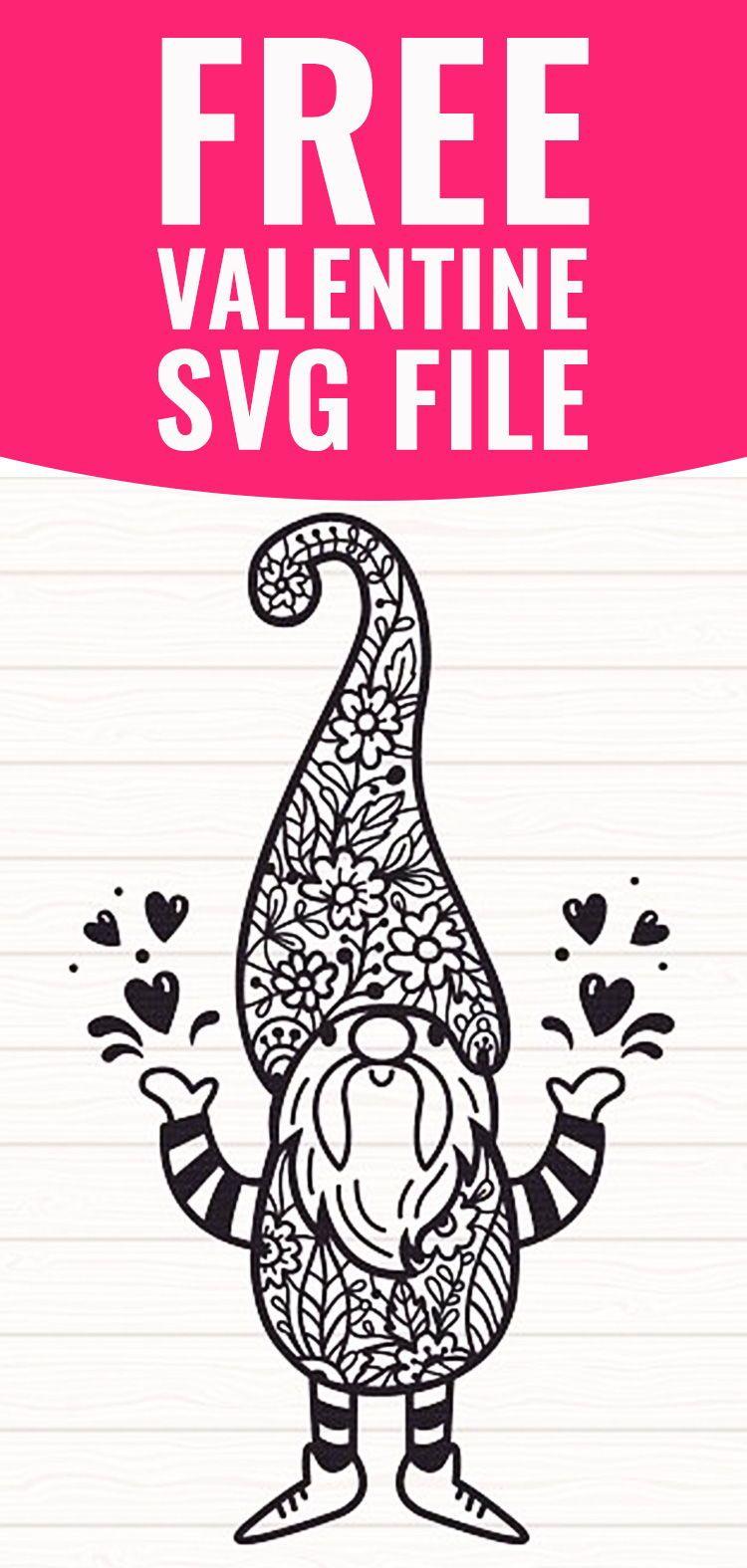 Free Gnome Svg : gnome, Gnome, Download, Design, Resources, Valentine, Files,, Valentines