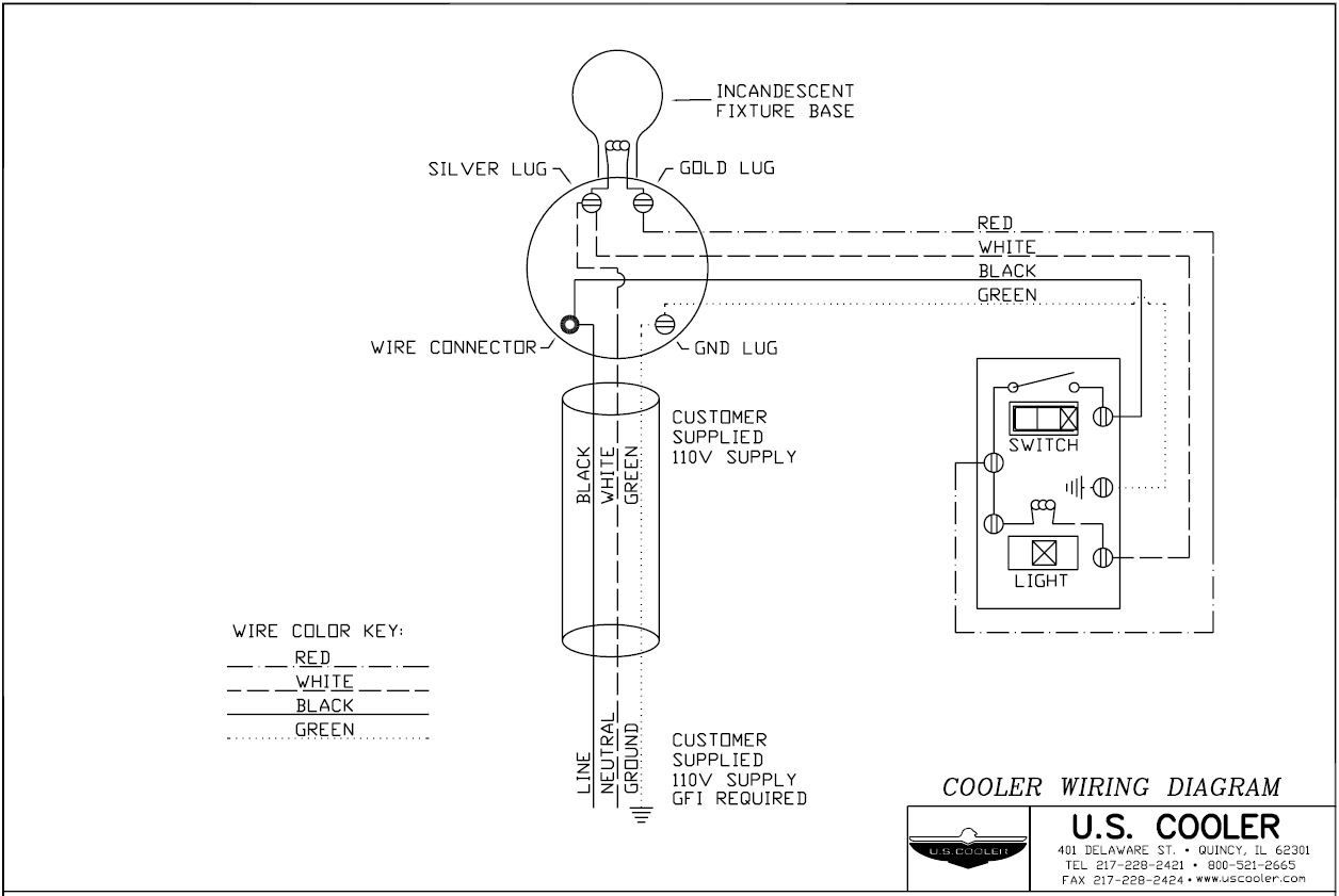 Basic Refrigeration Wiring Diagram Wiringdiagram Org