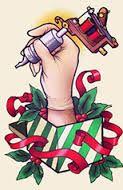 Fun tattoo  www.tattoodefender.com  #humor #tattooing #cartoons #ecards #memes #tattooartist #pinterest #ha #hashtag #haha #hahaha #lol #tattoo #tattoos #tatuaggi #tatuaggio #meme #tattoodefender  #chrsitmas #santa