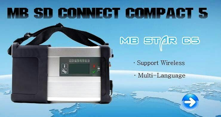 MBStarSDConnectC5 Wifi MB Star SD Connect C5 Mercedes Xentry Connect