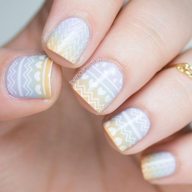 The Nailasaurus | UK Nail Art Blog: MoYou Hipster Stamping Nail Art