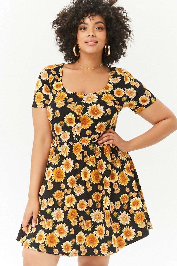 20++ Plus size sunflower dress ideas ideas
