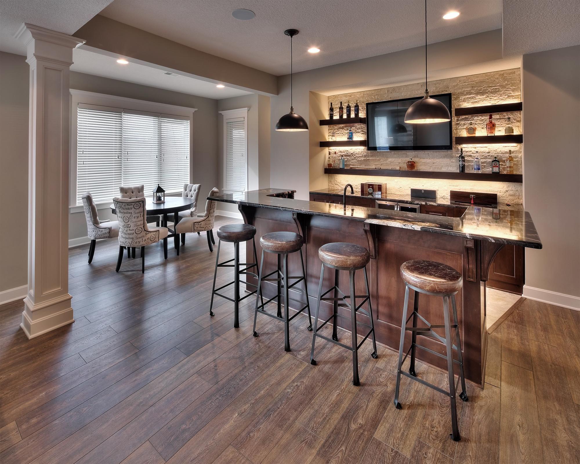 Basements Photo Gallery | Custom Homes in Kansas City KS | Starr ...