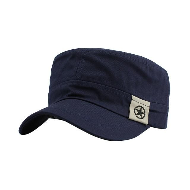 0f28817ed5c6b9 Casual Vintage Military Hat   Products   Hats, Hats for men, Mens caps