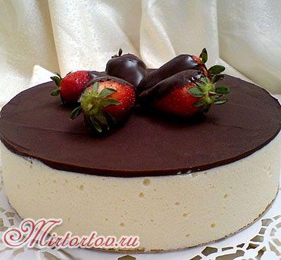 Праздничный торт без выпечки