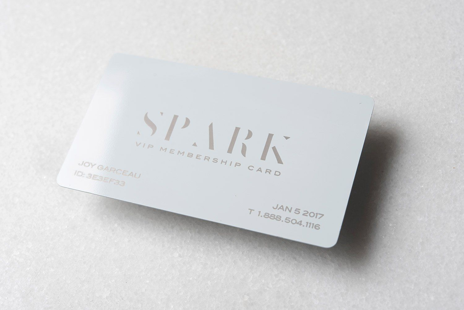 Laser Engraved White Metal Business Cards Design 2 Metalbusinesscards Quick Business Cards Business Card Template Design Metal Business Cards