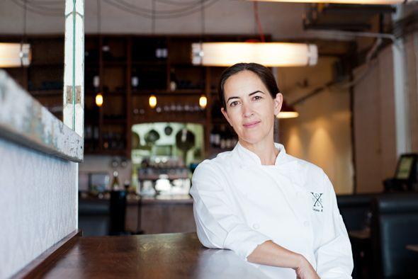 Chef Corinna Mozo of Delux restaurant in Toronto.
