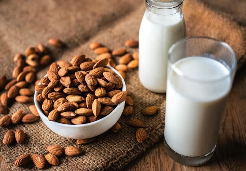 The 5 Best Vegan Heavy Cream Substitutes With Images Almond Benefits Calcium Rich Foods Organic Almond Milk