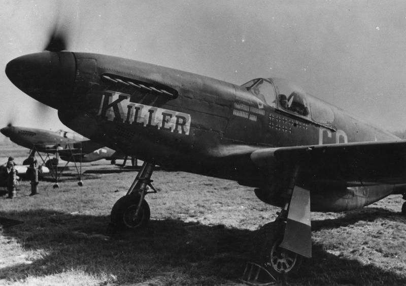 A P-51 Mustang nicknamed
