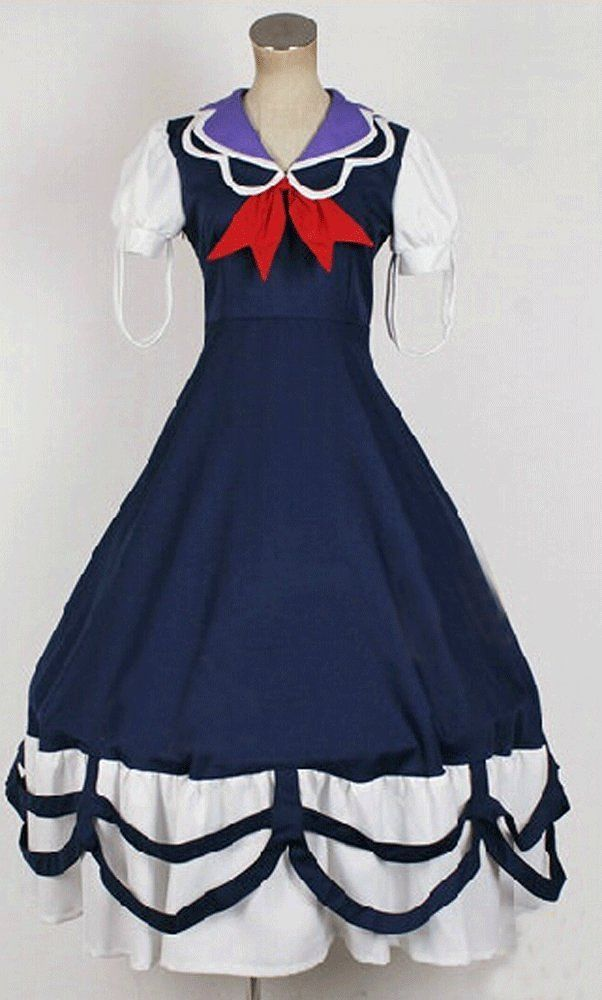 Camplayco Touhou Project Kamishirasawa Keine Cosplay Costume-made * Check out the image by visiting the link.