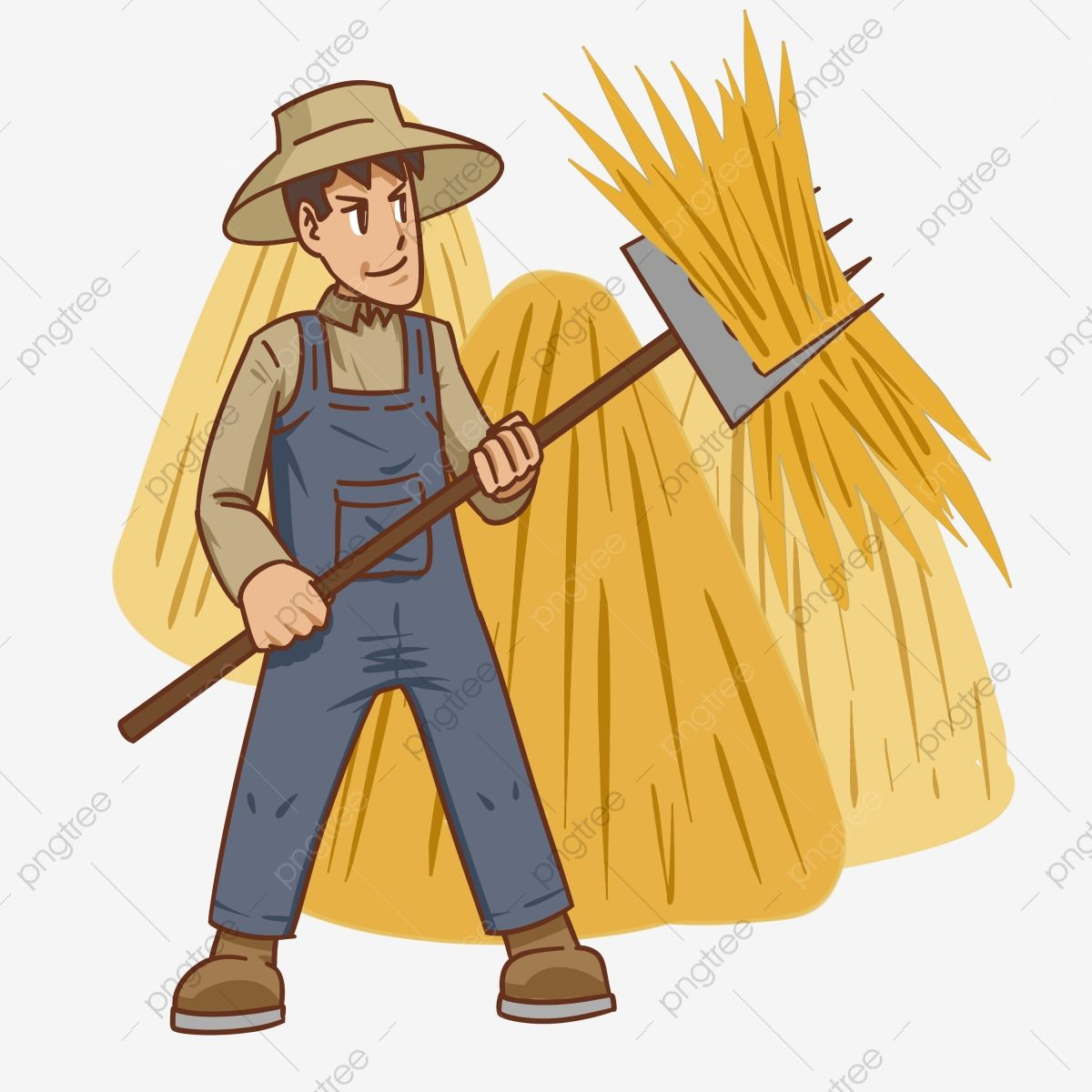 Hand Drawn Peasant Figures Farmers Picking A Bundle Of Grain Harvest Cartoon Peasant Character Grain Haystack Harvesting Character Illustration Png Transpare In 2021 How To Draw Hands Character Illustration Cartoon Clip Art