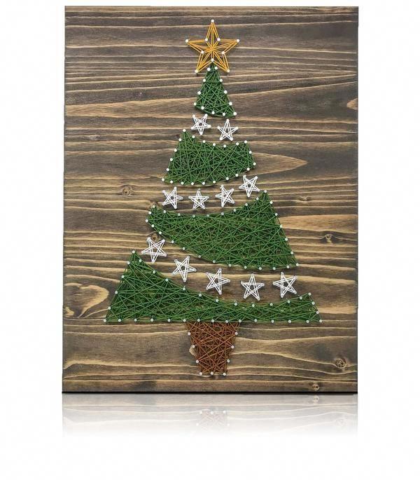 Christmas Tree String Art Kit Christmas Tree String Art Kit Diy diy craft kits for adults