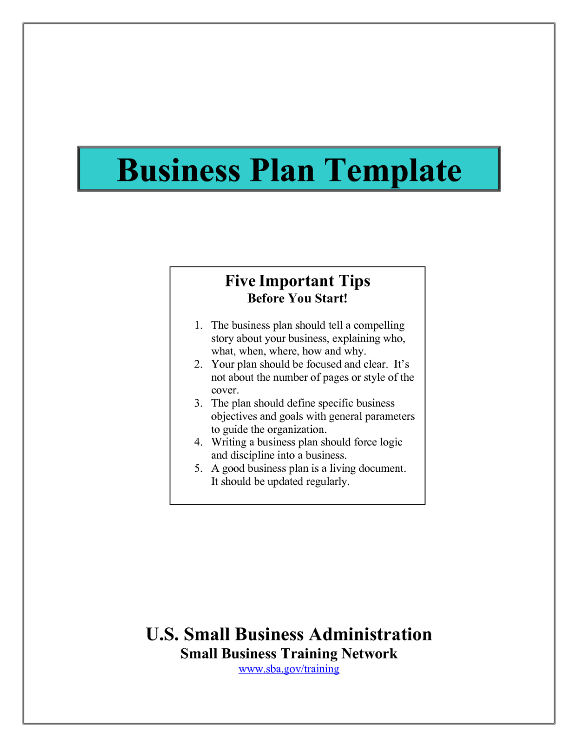 Business Plan Outline Plate Free Sample Nonprofit