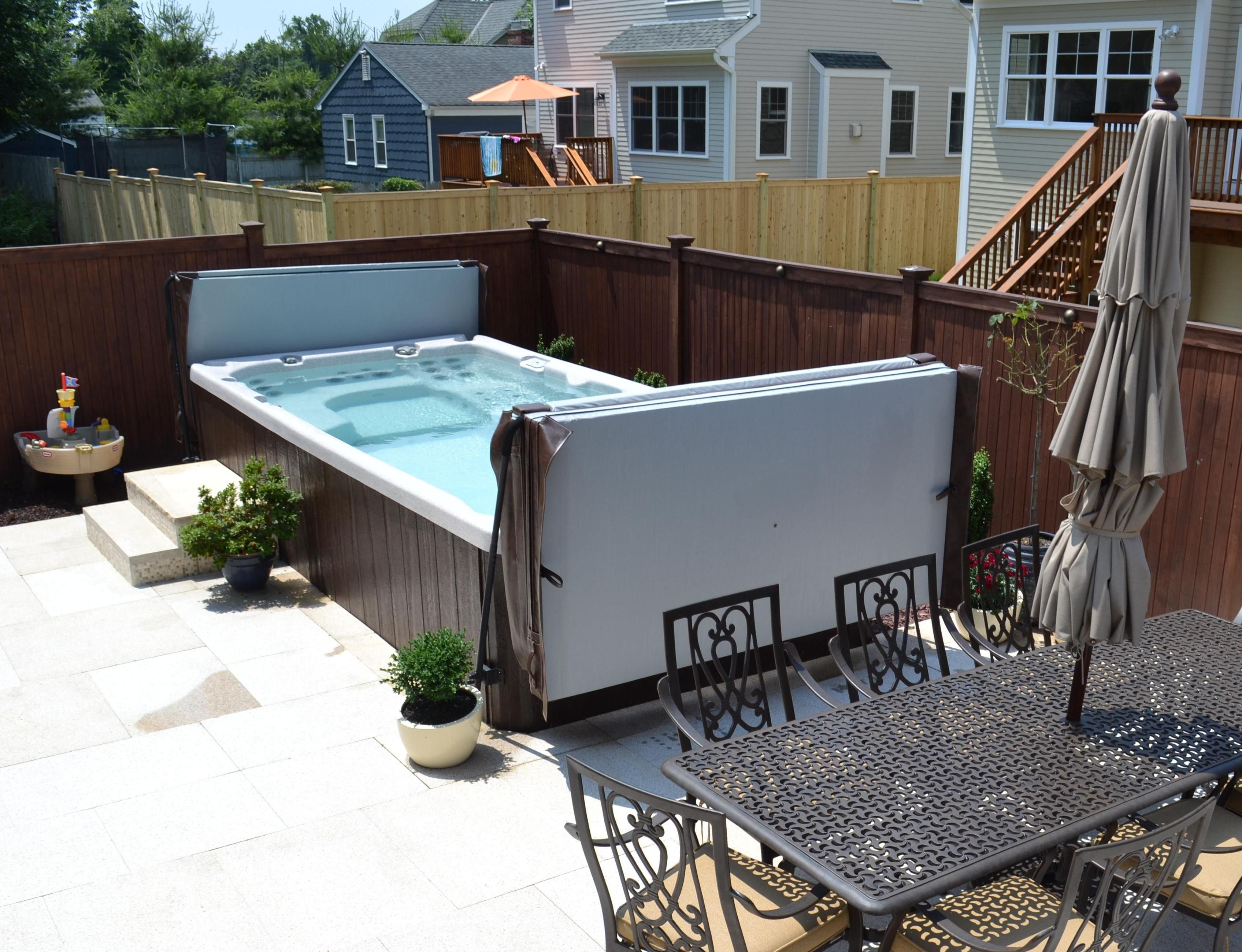 Atera swim spa cold spa hot tub jacuzzi pool for Pool design certification