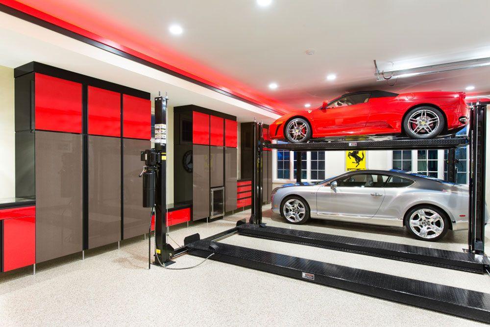 2017 Top Shelf Gallery Lift DesignGarage Storage CabinetsCustom