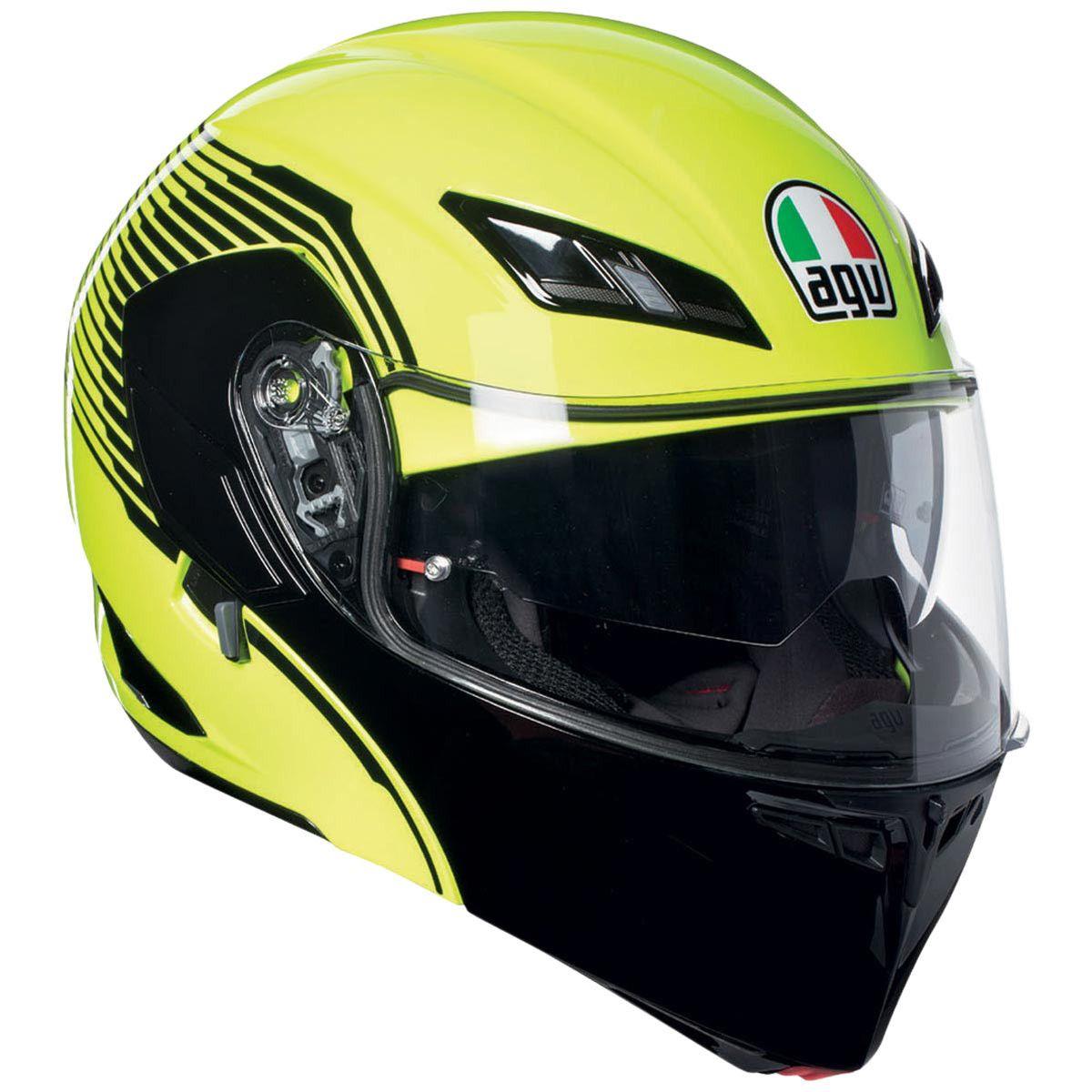 AGV CompactST Vermont Helmet in Yellow/Black