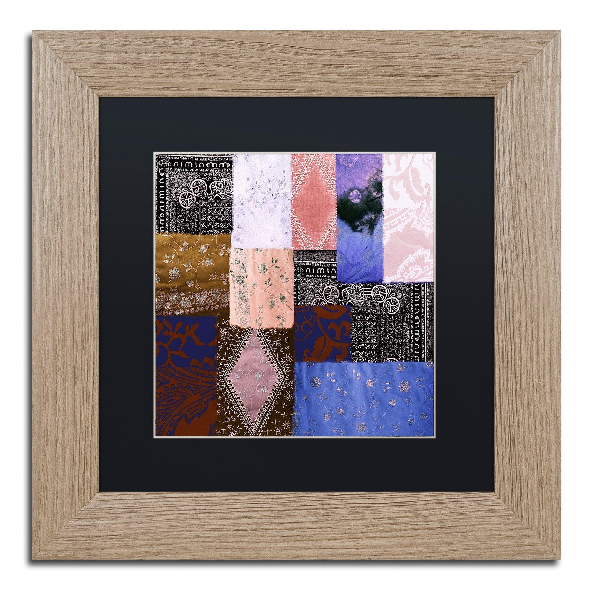 Color Bakery \'Afrikan Batik IV\' Matted Framed Art | Products | Pinterest