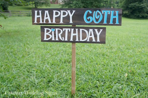 Birthday Party Yard Sign Happy Decorations 1st 30th 40th 50th 60th Anniversary On Etsy 4500