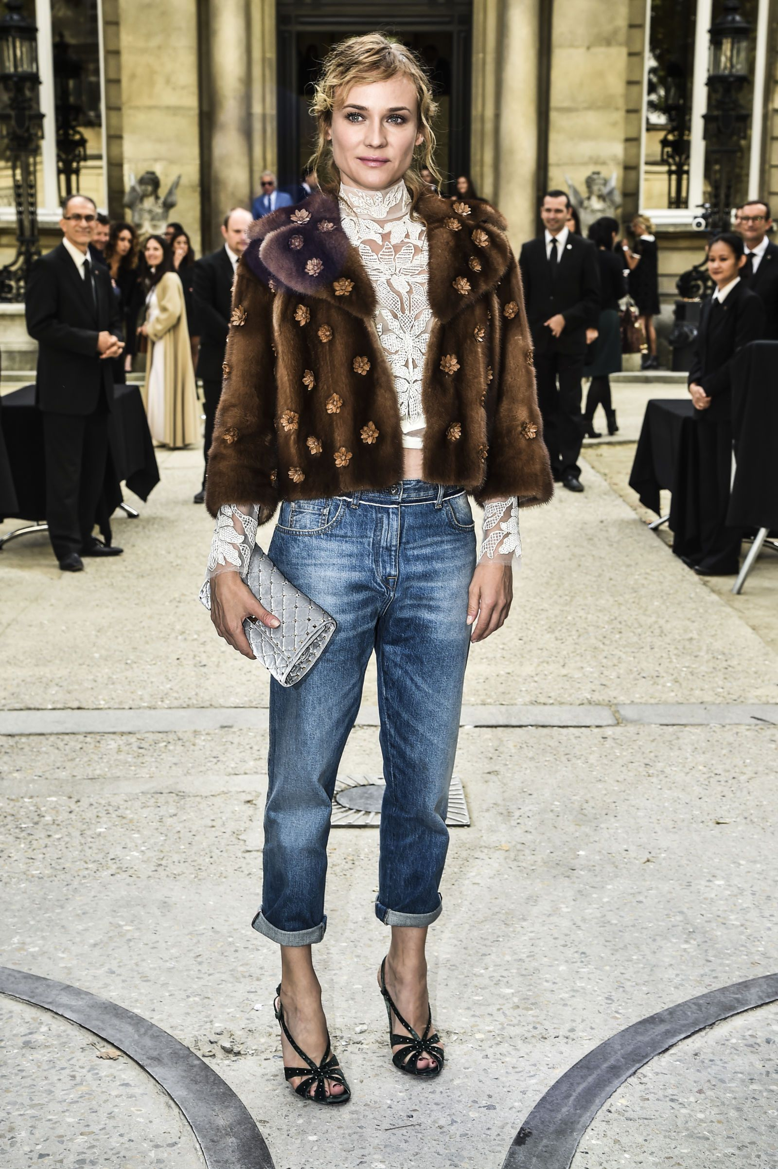 Stars at paris fashion week diane kruger fashion weeks and
