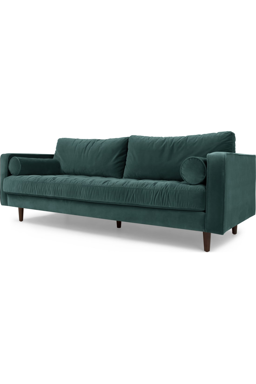 Made Com Canapes 3 Places Bleu In 2020 Home Decor Furniture Sofa